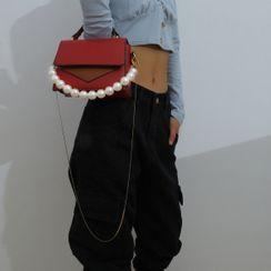 Seirios - Faux Pearl Handbag Chain