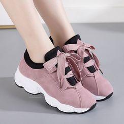 MoonMello - 厚底休閒鞋