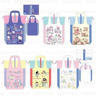 Sanrio - Large Foldable Tote Bag - 9 Types