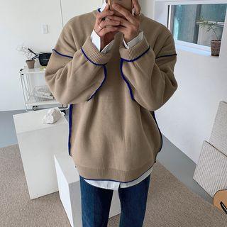 MRCYC - Paneled Sweater