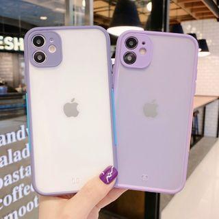 CeLLEAGUE - Translucent Phone Case - iPhone 11, 11 Pro, 11 Pro Max, XS Max, X/XS, XR, 8p/7p, 8/7