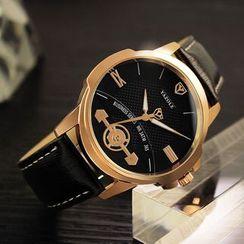 YAZOLE - 人造皮帶式手錶