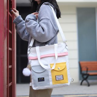 ANEMOI - Canvas Dual Front Pocket Tote Bag