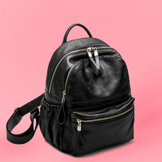 AIDO - Faux Leather Backpack