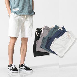 Aozora - Linen Shorts