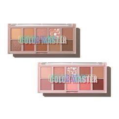The Saem - Color Master Shadow Palette NEW - 2 Colors