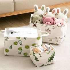 Popcorn - Printed Garment Organizer Basket