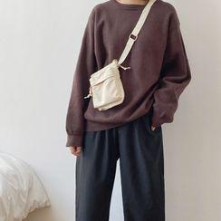 Neztra - Mini Canvas Crossbody Bag