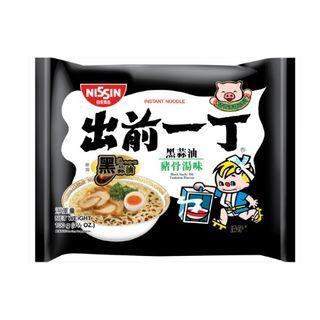 Nissin - Demae Iccho Tonkotsu Series Black Garlic Oil Tonkotsu Flavour