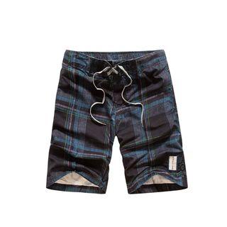 Carser - 格子沙滩裤