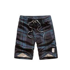 Carser - Plaid Swim Trunks