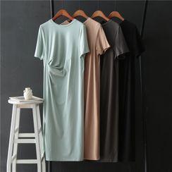 Grenoble - 圓領短袖T裇連衣中裙