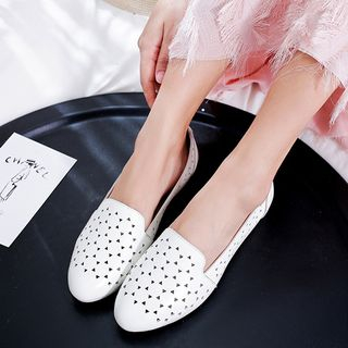 Romantina - Cut Out Loafers