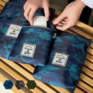 Pagala - Set: Printed Travel Garment Organizer