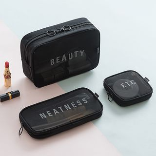 Bandify - Travel Lettering Makeup Pouch