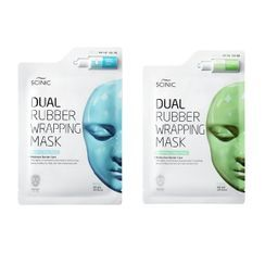 SCINIC - Dual Rubber Wrapping Mask - 2 Types