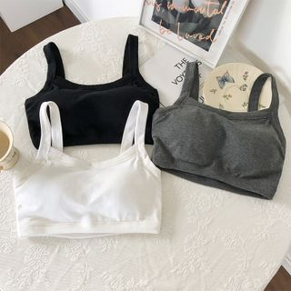 Moon City - Cropped Camisole Top