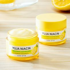 SOME BY MI - Yuja Niacin Brightening Sleeping Mask