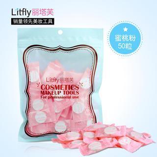 丽塔芙 - 压缩面膜纸 (蜜桃粉) (50件)