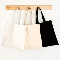 Cady - 纯色帆布手提袋