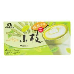 Morinaga - [Limited] Koeda Chocolate Biscuit Stick Green Tea Latte Flavor 61g