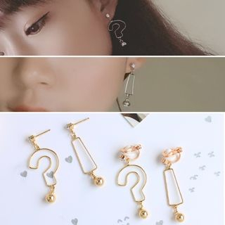 Joodii - Punctuation Ear Stud / Clip-On Earring