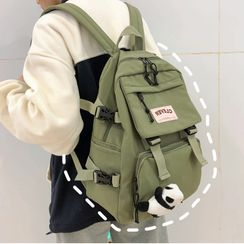 Novila - Waterproof Buckled Backpack