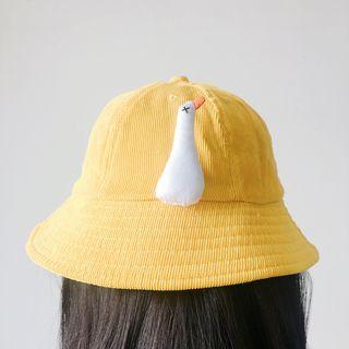 Hello minto - Duck Corduroy Bucket Hat
