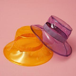 HARPY - Transparent PVC Bucket Hat