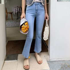 Envy Look(エンビールック) - Semi Boot-Cut Jeans