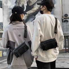 Libra(リブラ) - Nylon Barrel Crossbody Bag