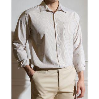 STYLEMAN - Stripe Oxford Shirt