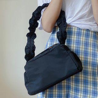 Barba - Shirred Strap Shoulder Bag