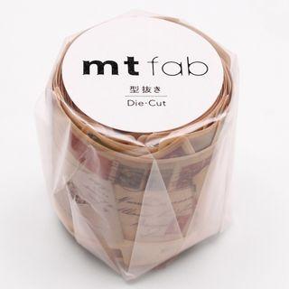 mt - mt Masking Tape : mt fab Die-Cut letter