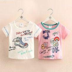 Seashells Kids - Kids Short-Sleeve Print T-Shirt