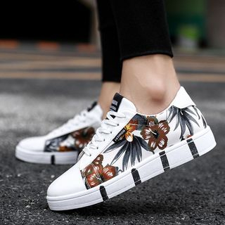 MARTUCCI - Floral Print Sneakers
