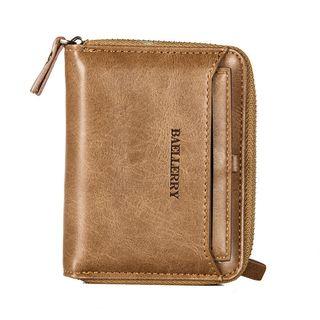 ETONWEAG - Faux Leather Zip Around Wallet