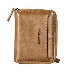ETONWEAG - Faux Leather Zip Around Wallet