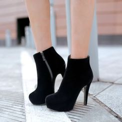 Megan(ミーガン) - High Heel Ankle Boots