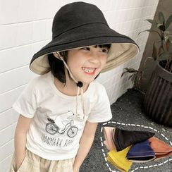 FROME - Kids Wide Brim Bucket Hat