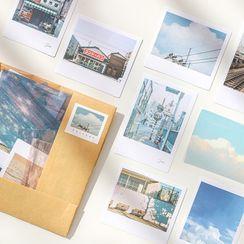 Azui - Scenery Print Sticker