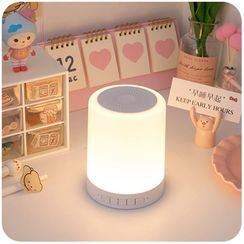Momoi - Rechargeable Bluetooth Speaker with Night Lamp