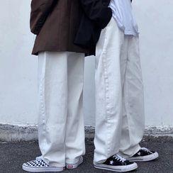 Banash - Wide-Leg Jeans