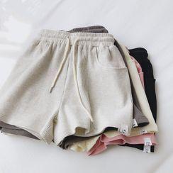 mochigome(モチゴメ) - Drawstring Shorts