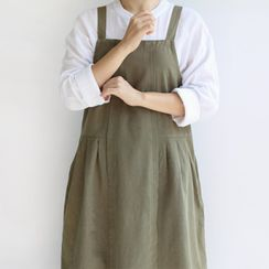 iswas - Button-Back Apron