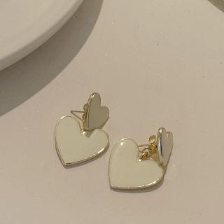 Calypso - Glaze Heart Drop Earring