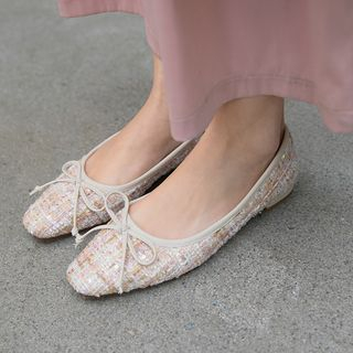Pretty in Boots - Bow Flats
