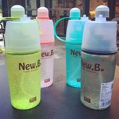 Sensam - 塑胶运动水瓶连喷雾器