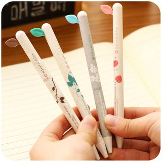 Momoi - Retractable Leaf Gel Pen