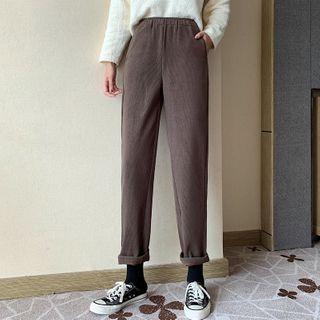 Luminato - High-Waist Tapered Pants